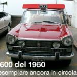 Fiat 1600 del 1960 unico esemplare ancora in circolazione